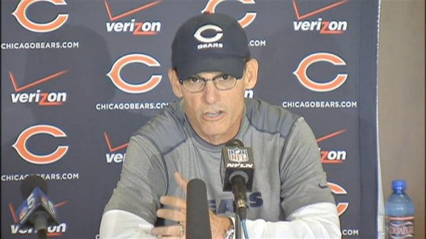[CHI] Training Camp Day 1: Trestman Talks