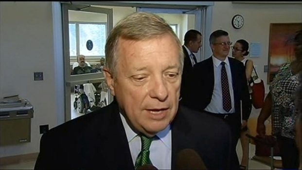 [CHI] Sen. Durbin on Syria: 'I'm Against Boots on the Ground'