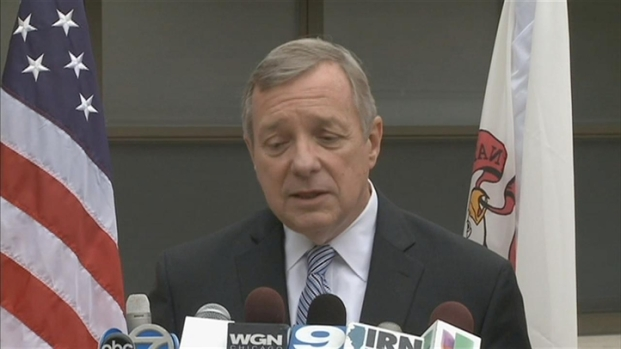 [CHI] Sen. Durbin on Back of the Yards Shooting