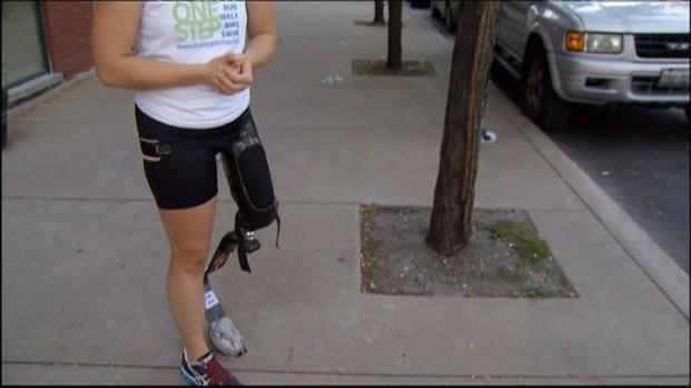 [CHI] Marathon Hero: Amputee Runs to Inspire
