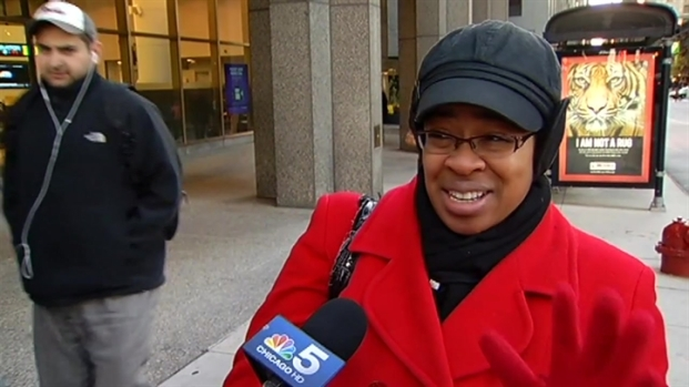 [CHI] Chicagoans React to Cold Weather
