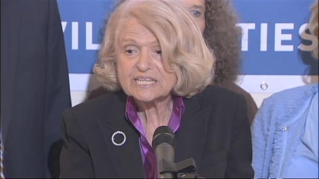 "[NY] Edie Windsor: I'm ""Overjoyed"" at Supreme Court's DOMA Decision"
