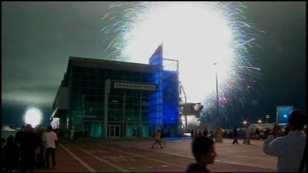 [DGO] Raw Video of Fireworks Mishap