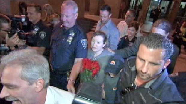 [NY] RAW: Accused Madam Walks Out of Court, Free on Bond