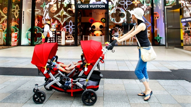 [AP] Kid Couture: Spending Big Bucks on Babies