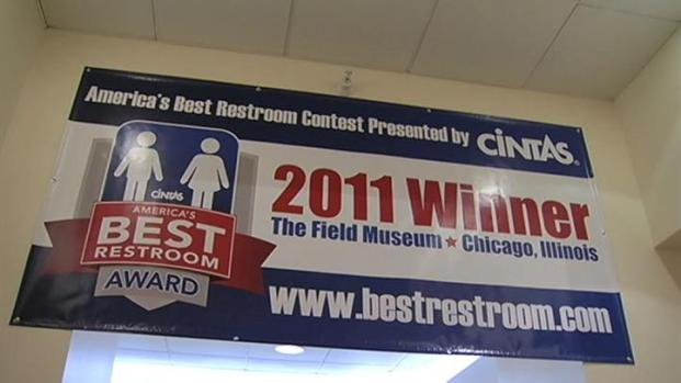 [CHI] Field Museum Wins Best Bathroom Award