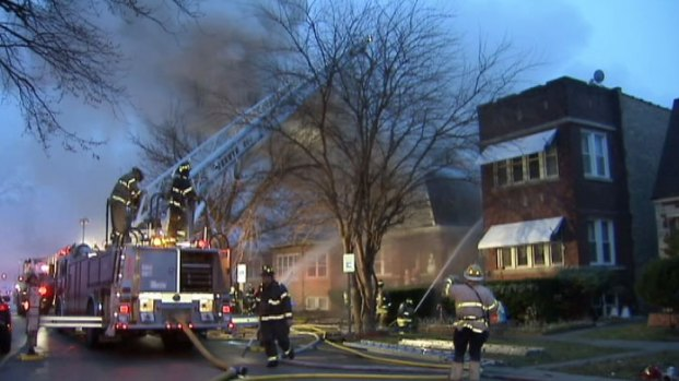 [CHI] 911 Calls Depict Drama of Morning Fire