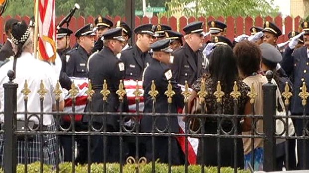 [CHI] Funeral Held for Corrections Officer Killed in Hit-and-Run