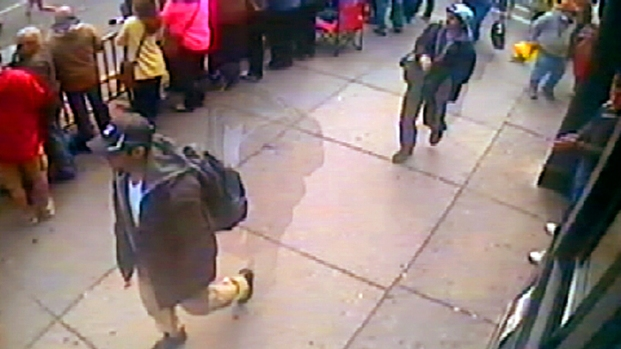 [NY] Surveillance Video: 2 Suspects in Boston Marathon Bombings