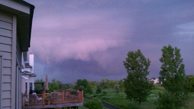 June 12 Storm Photos