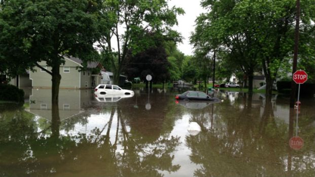 Storms Cause Flooding, Street Closures