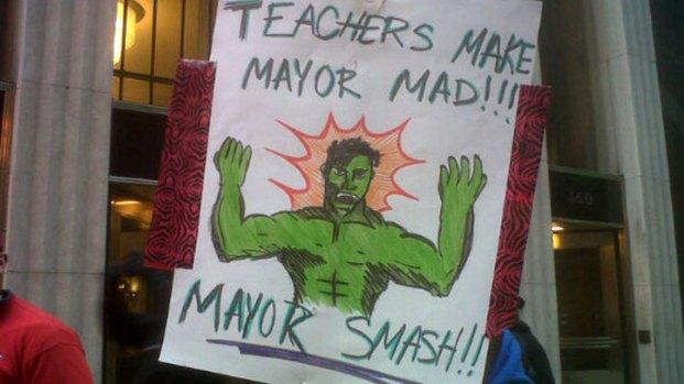 Scenes from CTU Protest