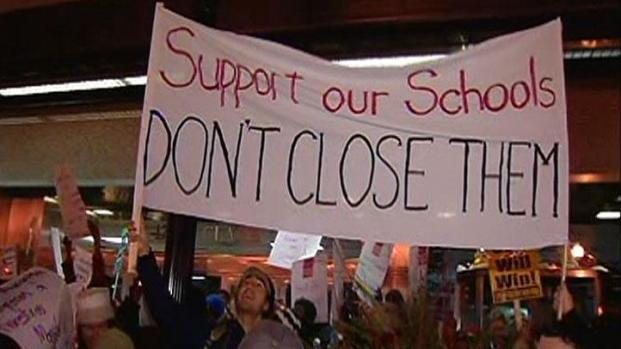 [CHI] CTU, Occupy Chicago Protest School Closures