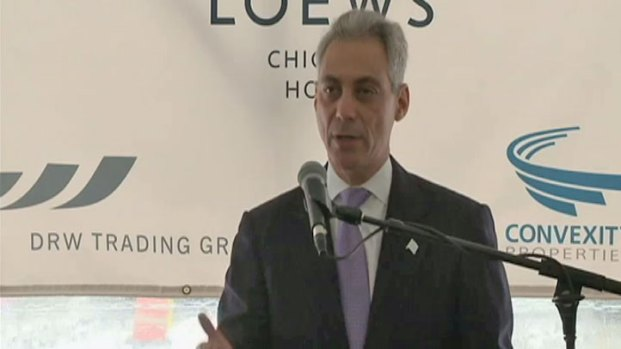 [CHI] Mayor: Hotel Development Makes Chicago a World-Class City