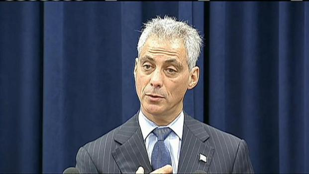 [CHI] Emanuel on Guns, Crime, Burke's Security