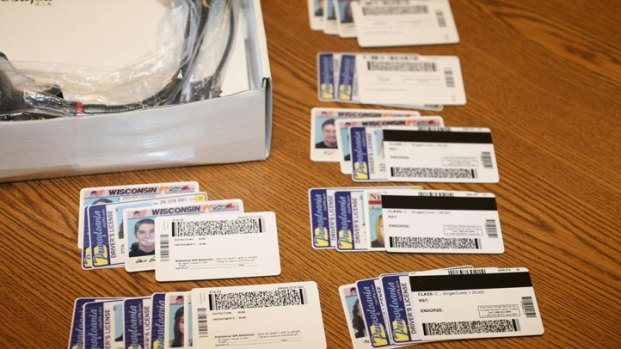 Photos: Fake IDs Shipped From China
