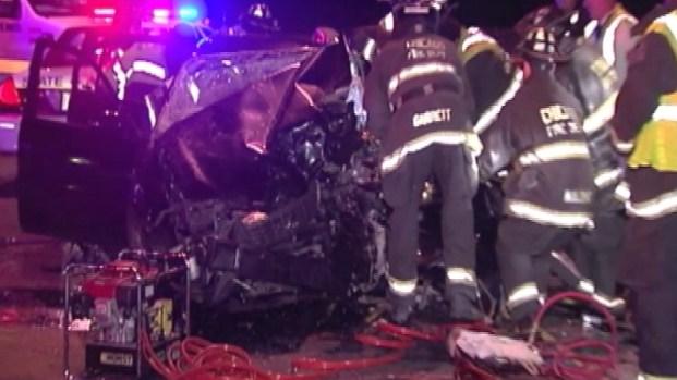 [CHI] RAW: Wrong-Way Driver Crashes, Kills 1