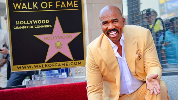 [NBCAH] Steve Harvey On Getting His Hollywood Star
