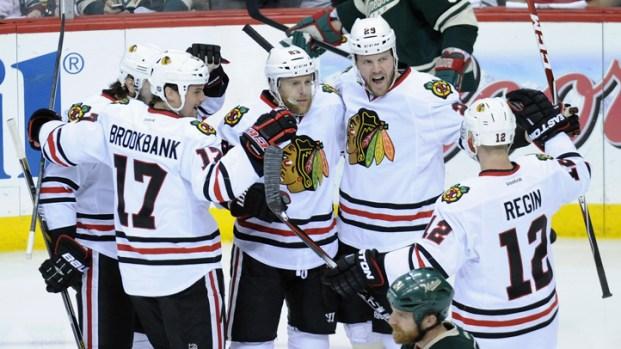 2014 Playoffs: Blackhawks Versus Wild