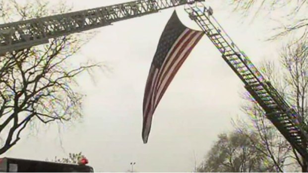 [CHI] Visitation Held For Fallen Firefighter