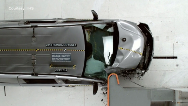 [NATL] Honda Odyssey Tops Minivan Crash Test List