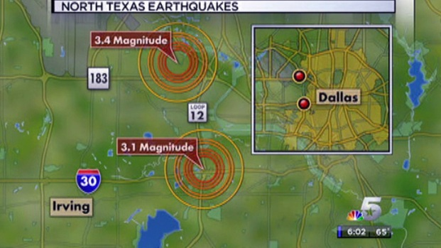 [DFW] Two Earthquakes Rattle North Texas