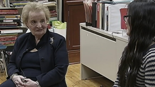 [CHI] Albright to Students: Learn a Second Language