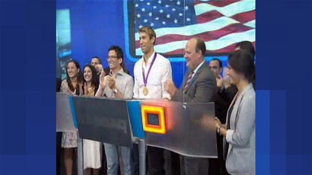 [CHI] Lake Forest's Matt Grevers Rings NASDAQ Opening Bell