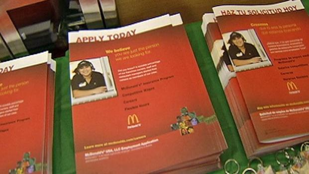 [CHI] McDonald's Holds Super-Sized Hiring Day