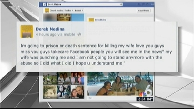 [MI] Husband Admits to Killing Wife, Posts Photo on Facebook: Cops