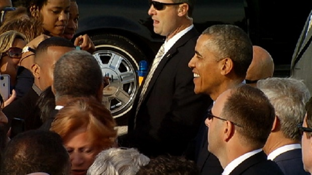 [CHI] Obama Makes The Rounds In Chicago