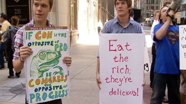 Photos: Occupy Chicago Protest Signs