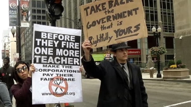 [CHI] Occupy Chicago Protesters Get Out of Jail