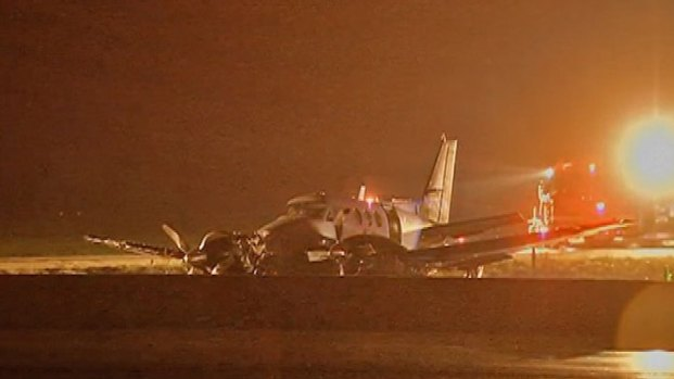[CHI] Plane Crash Lands on I-94