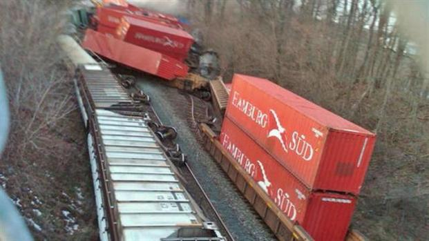 [CHI] Trains Collide in NW Indiana