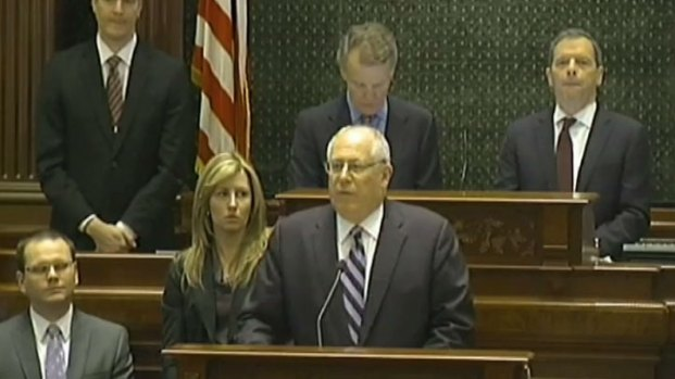 "[CHI] Quinn Touts ""Our Illinois"" In State of State Address"