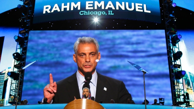 [CHI] Emanuel Switches Roles in Obama Re-Election Campaign