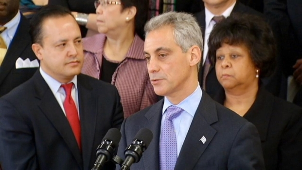 [CHI] Mayor Responds to Questions About Alleged Mob Ties in O'Hare Contract