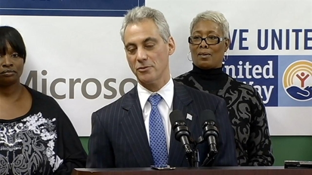 [CHI] Rahm Responds to Gold Coast Violence