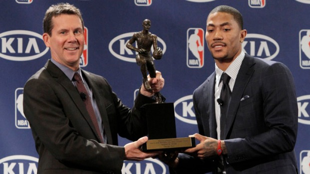 [CHI] Derrick Rose Announced as NBA's MVP