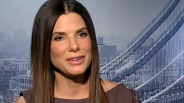 [NATL] Sandra Bullock Dishes on New Movie and Parenthood