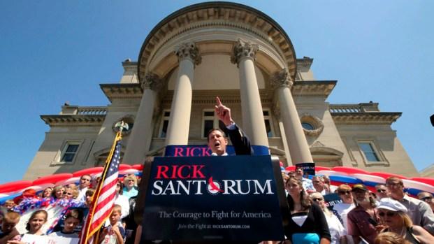 Rick Santorum: The Campaign Trail
