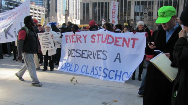 CPS Parents, Teachers Rally Against School Closings
