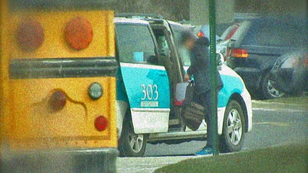 [CHI] Some Drivers With Checkered Pasts Taxi Schoolchildren