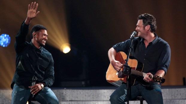 [NBCAH] Blake Shelton on Performing with Usher