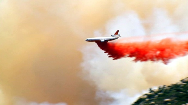 [PHOTOS]Silver Fire Scorches Structures Near Banning