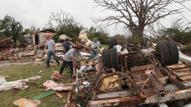 [DFW] Granbury Ripped Apart by Tornado