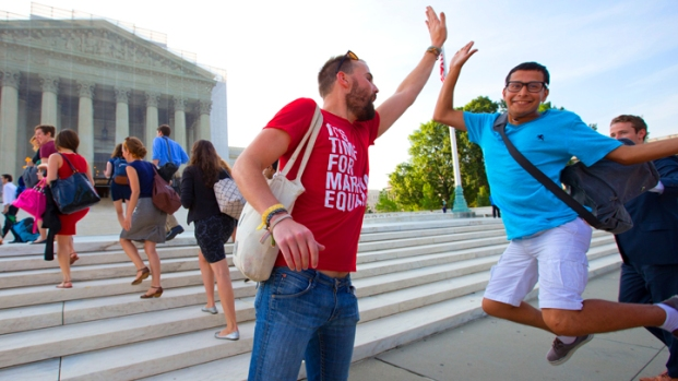[AP] Reaction to Supreme Court's Gay Rights Decisions