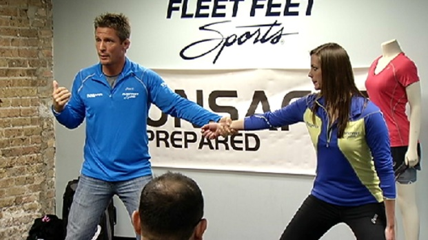 [CHI] Former Olympic Runner Offers Running Safety Tips