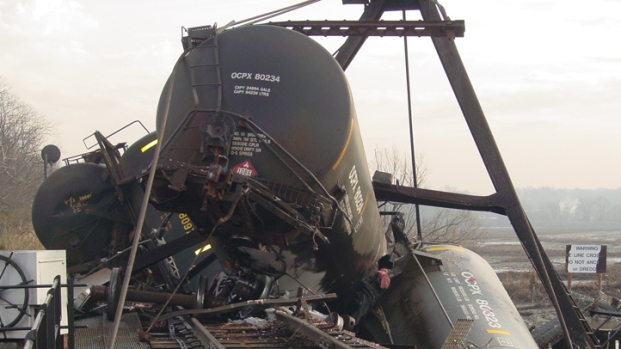 Train Derails in Paulsboro, Spills Chemicals